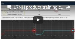 ONLINE-TRAINING L7NH ETHERCAT-SERVODRIVE